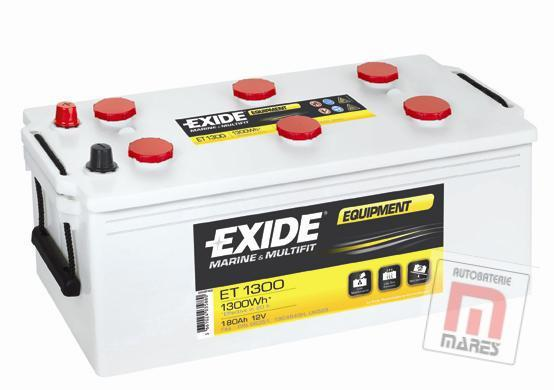 EXIDE EQUIPMENT 12V 180 Ah ET1300